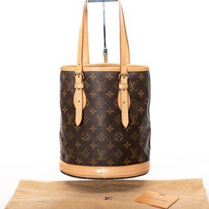 LOUIS VUITTON Bucket PM Small